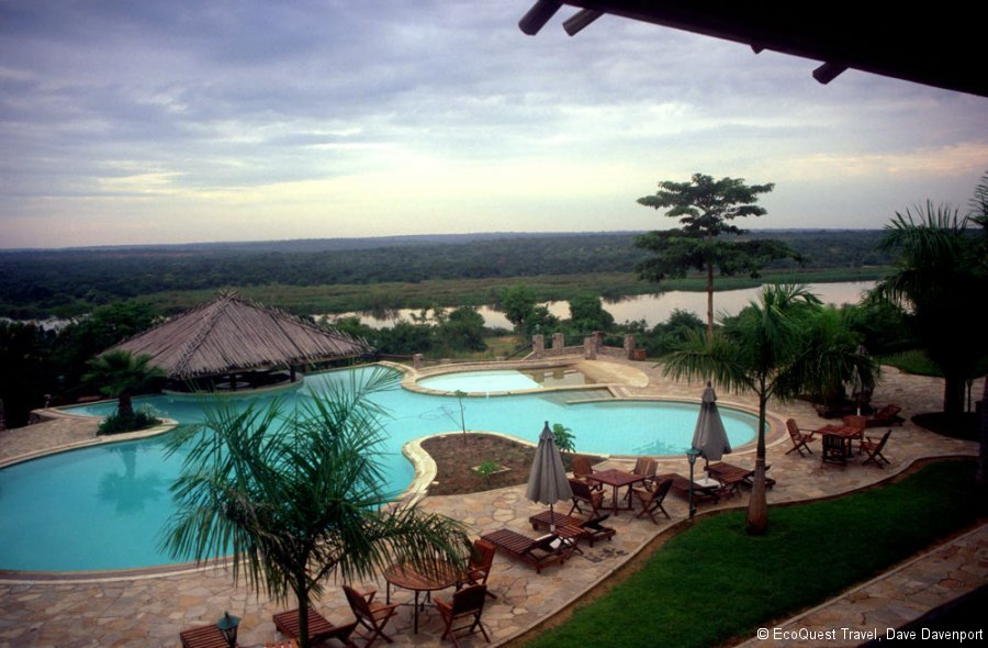 Paraa Safari Lodge Pool