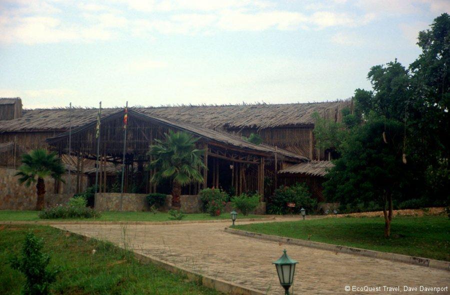 Paroa Safari Lodge Entrance Ug 2003